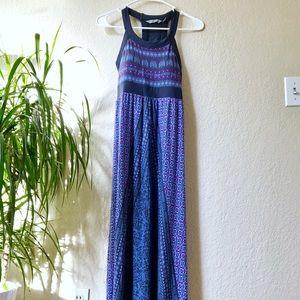 Athleta Maxi Printed Dress